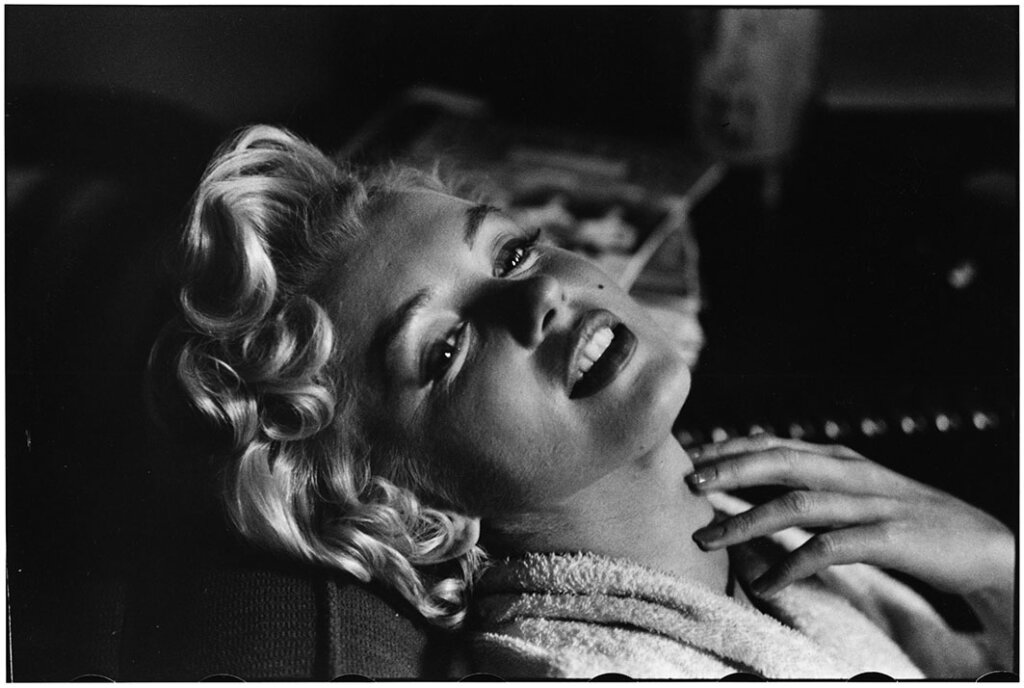 USA. New York. 1956. American actress Marilyn MONROE.