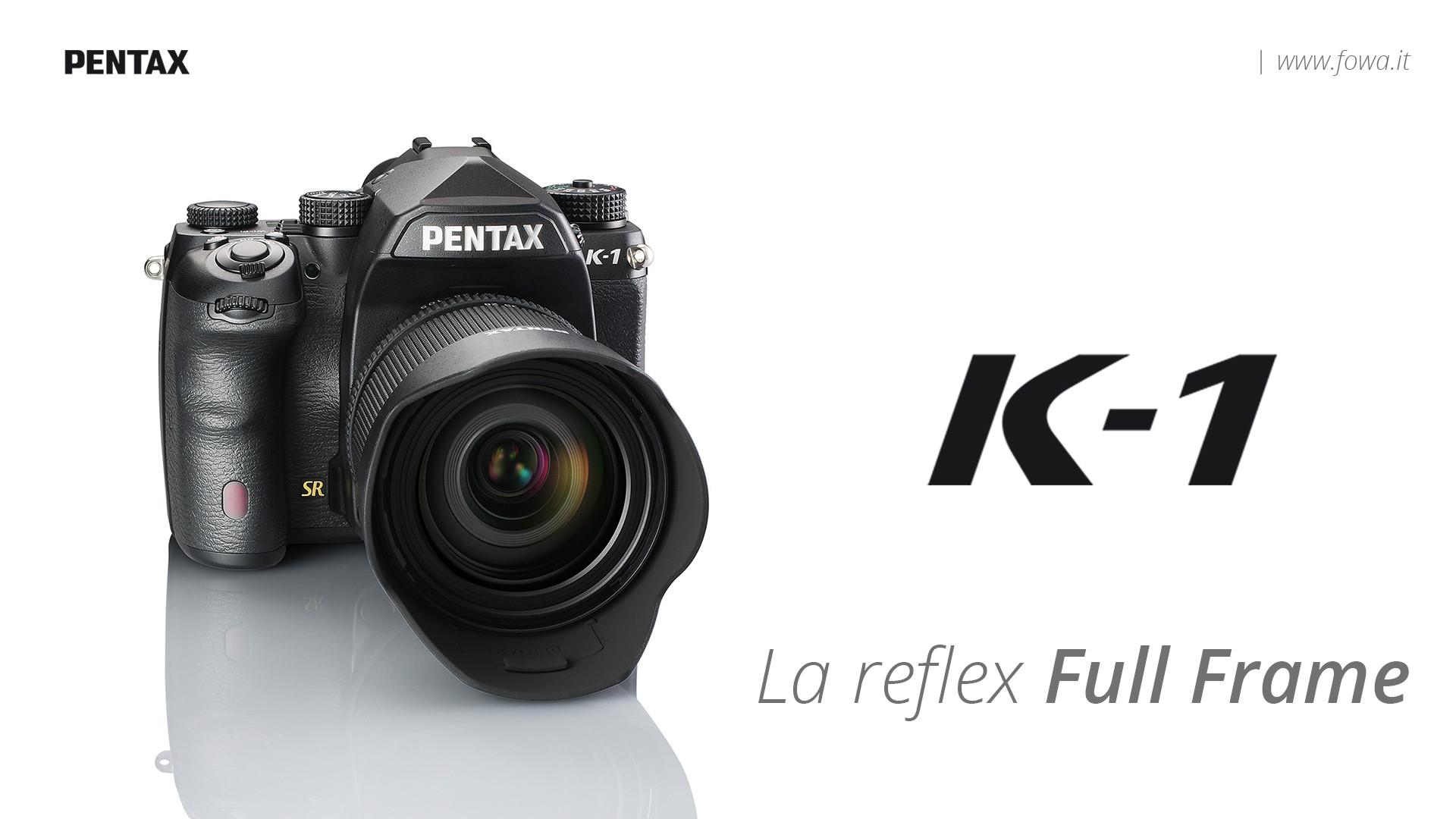 Pentax K-1 , la full frame più attesa dal mercato fotografico ...