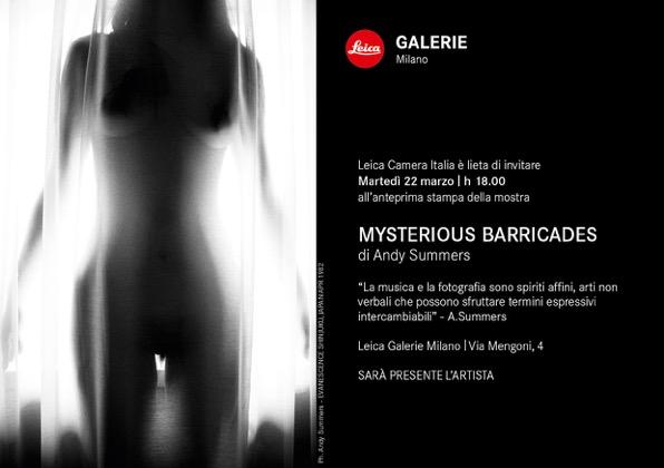 Leica Galerie Milano invito Summers