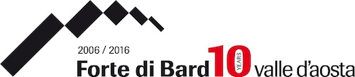Forte di Bard Logo web Decennale mail