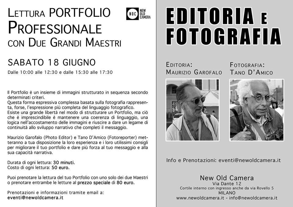 Letture Portfolio NOC - D'Amico e Garofalo - 18 Giugno
