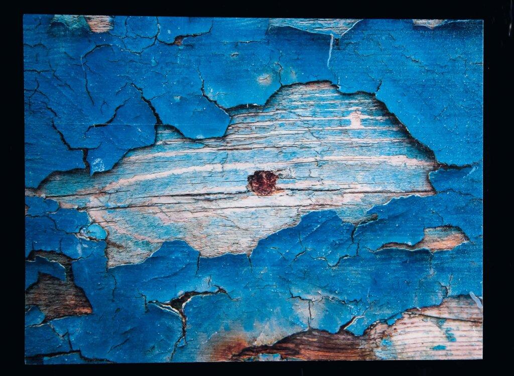 Isola #4, Fino alla fine del mare, stampa su legno, 40 x 30, 2015