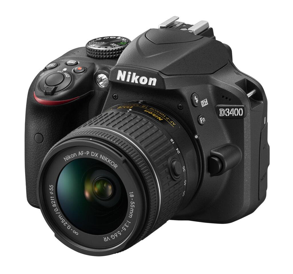 Nikon D3400_BK_18_55_VR_frt34l