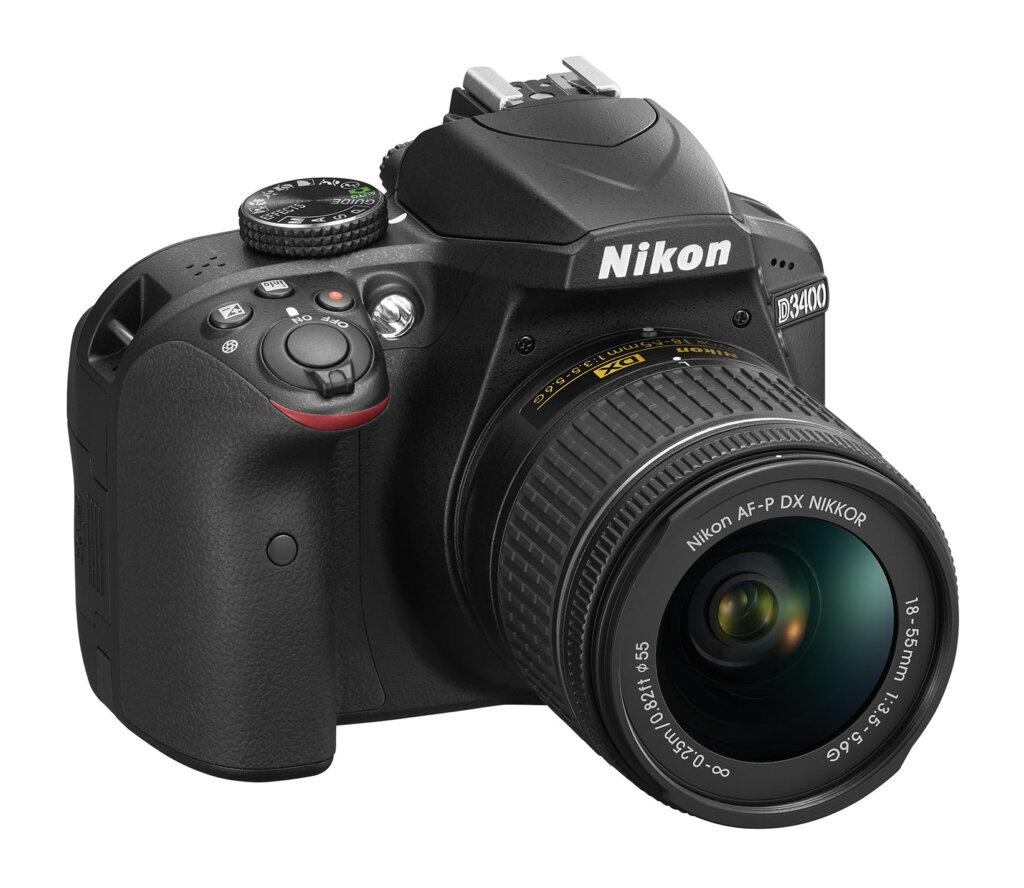 Nikon D3400_BK_18_55_frt34r