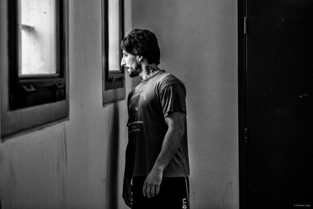 La rabbia, un detenuto in cerca di libertà. © Cristiano Lega