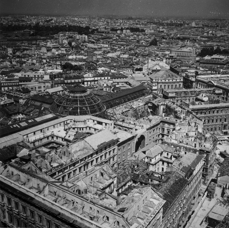 Galleria – Veduta Aerea Milano 1943