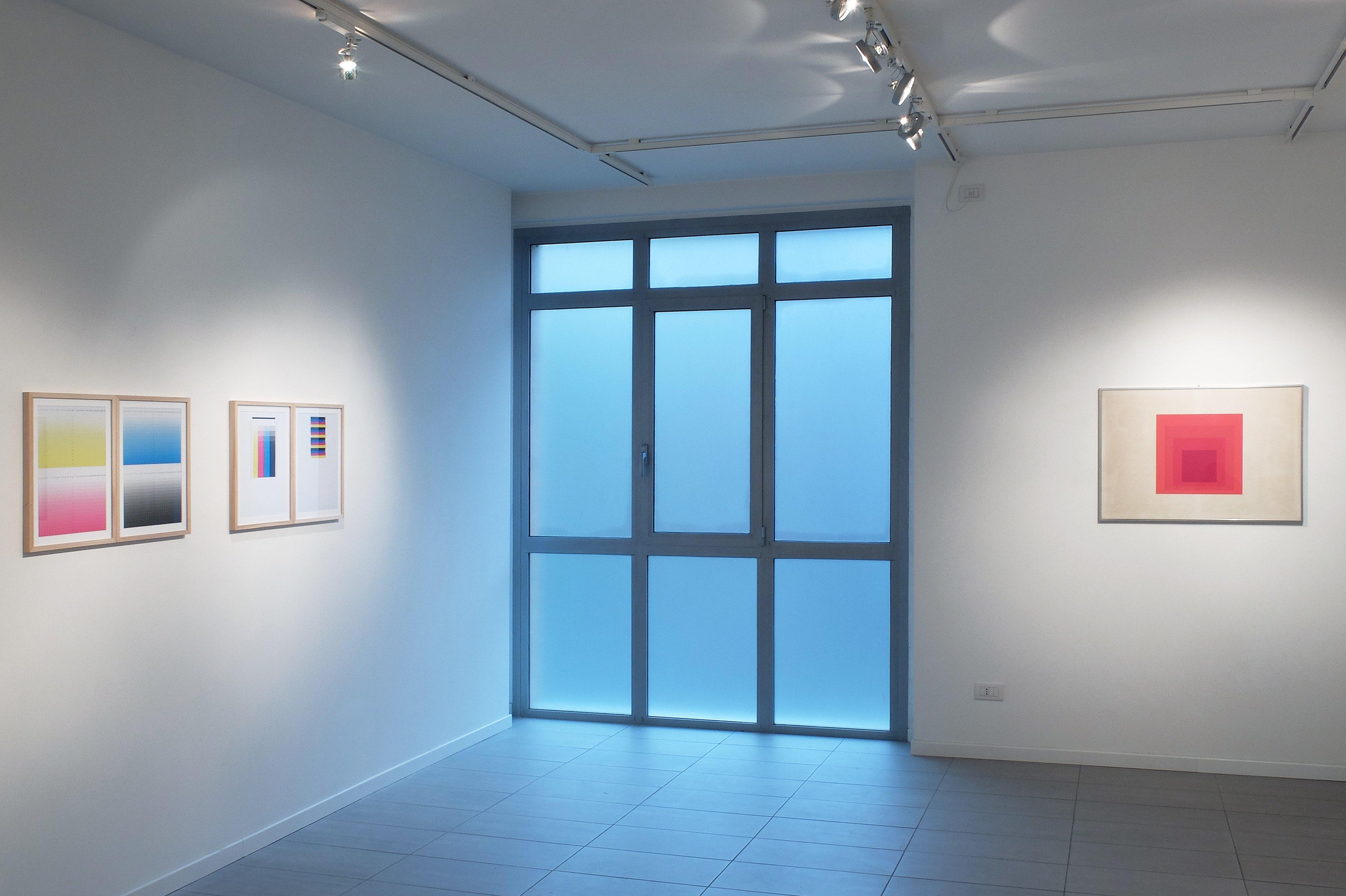 Es geht einfach um Nummern, installation view, galleria Metronom, 2015