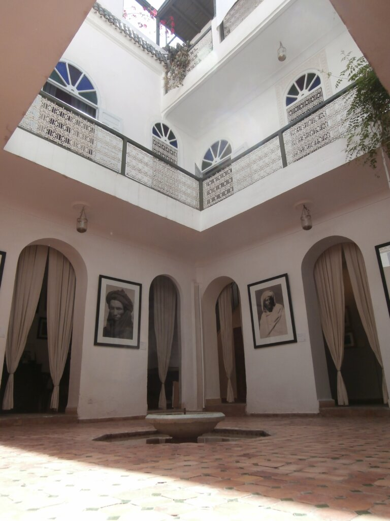 Cortile Interno © Maison de la Photographie de Marrakech