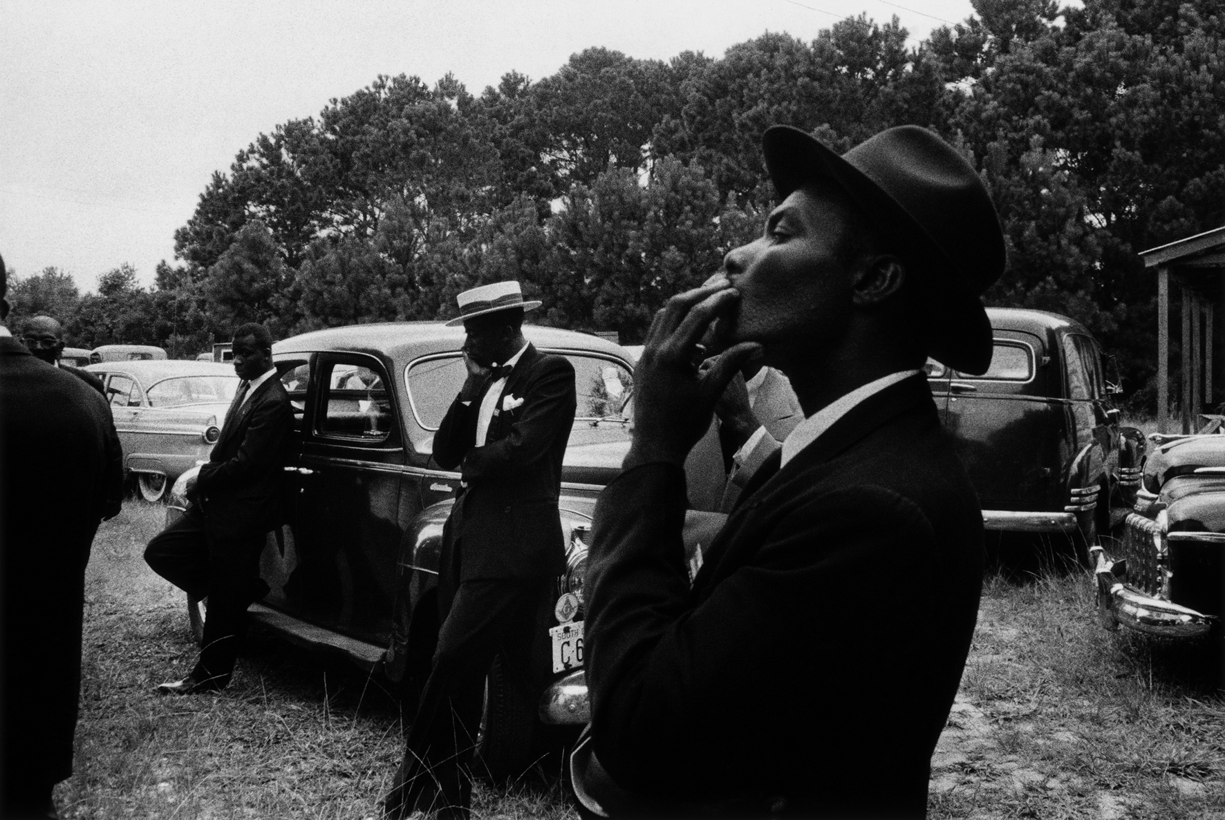 Robert Frank - Funerale, St. Helena South Carolina 1955