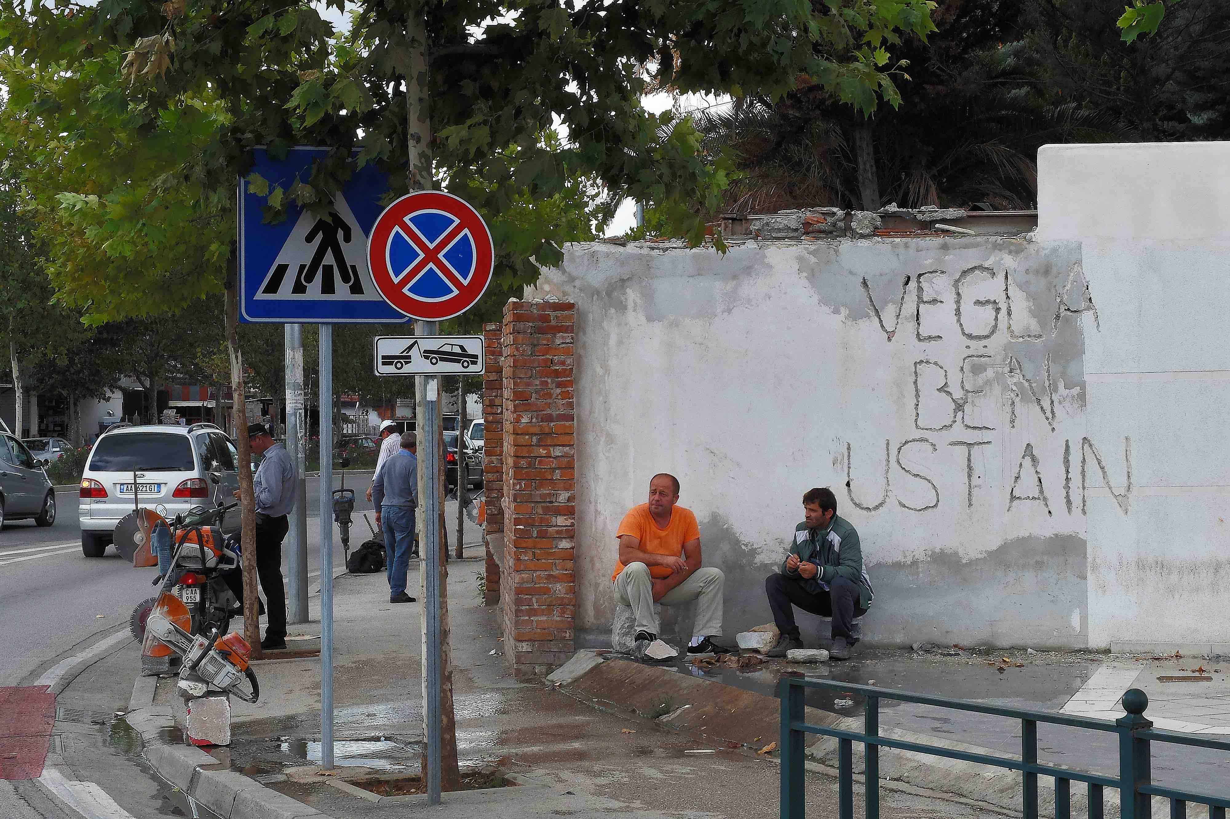 Vegla bën ustain, Tirana 2015
