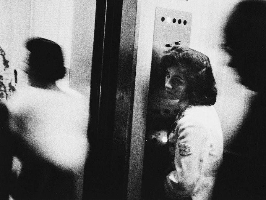 Elevator Girl © Robert Frank
