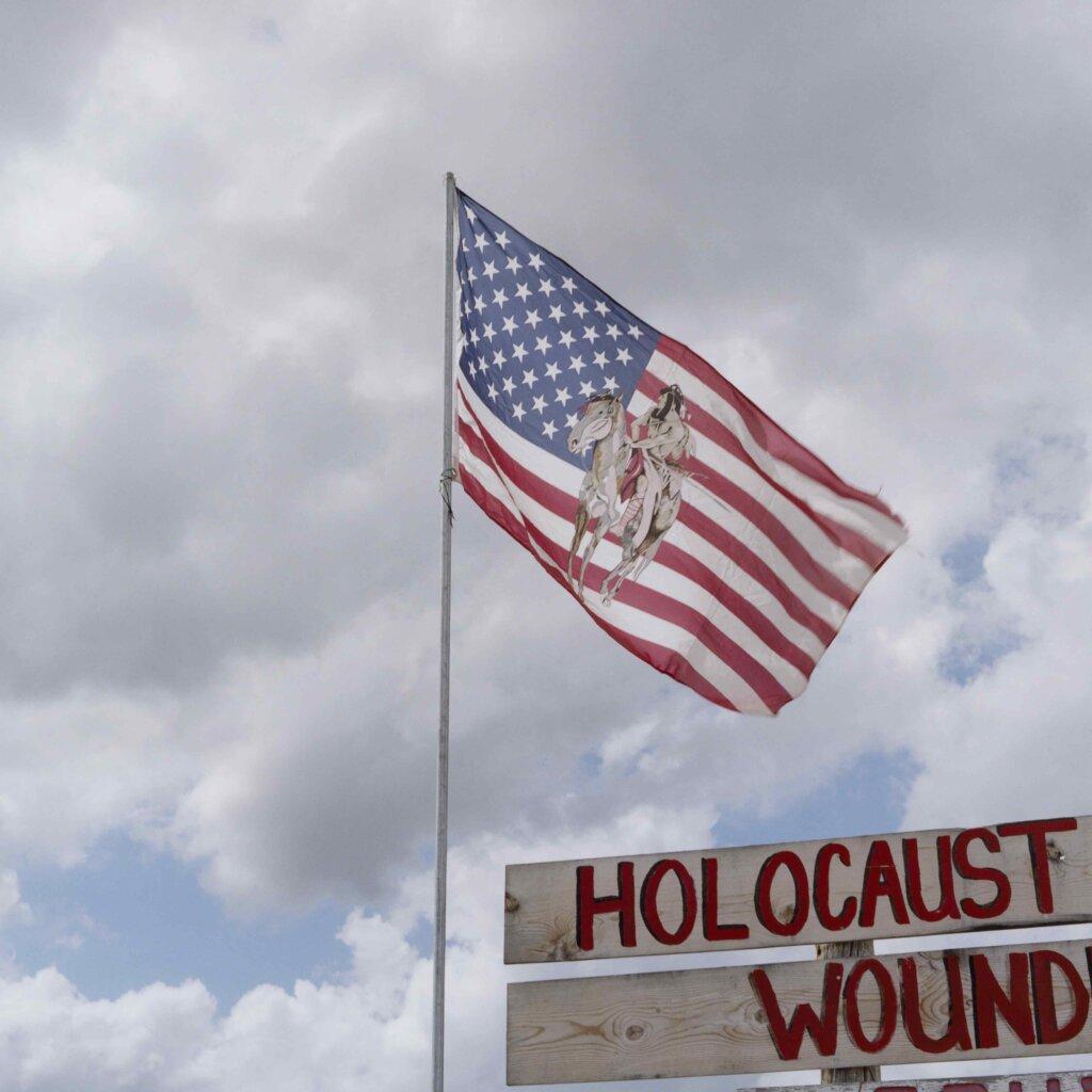 Holocaust Wound, da The Red Road Project © Carlotta Cardana