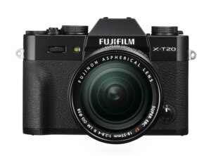 Fujifilm-X-T20-Front+XF18-55mm