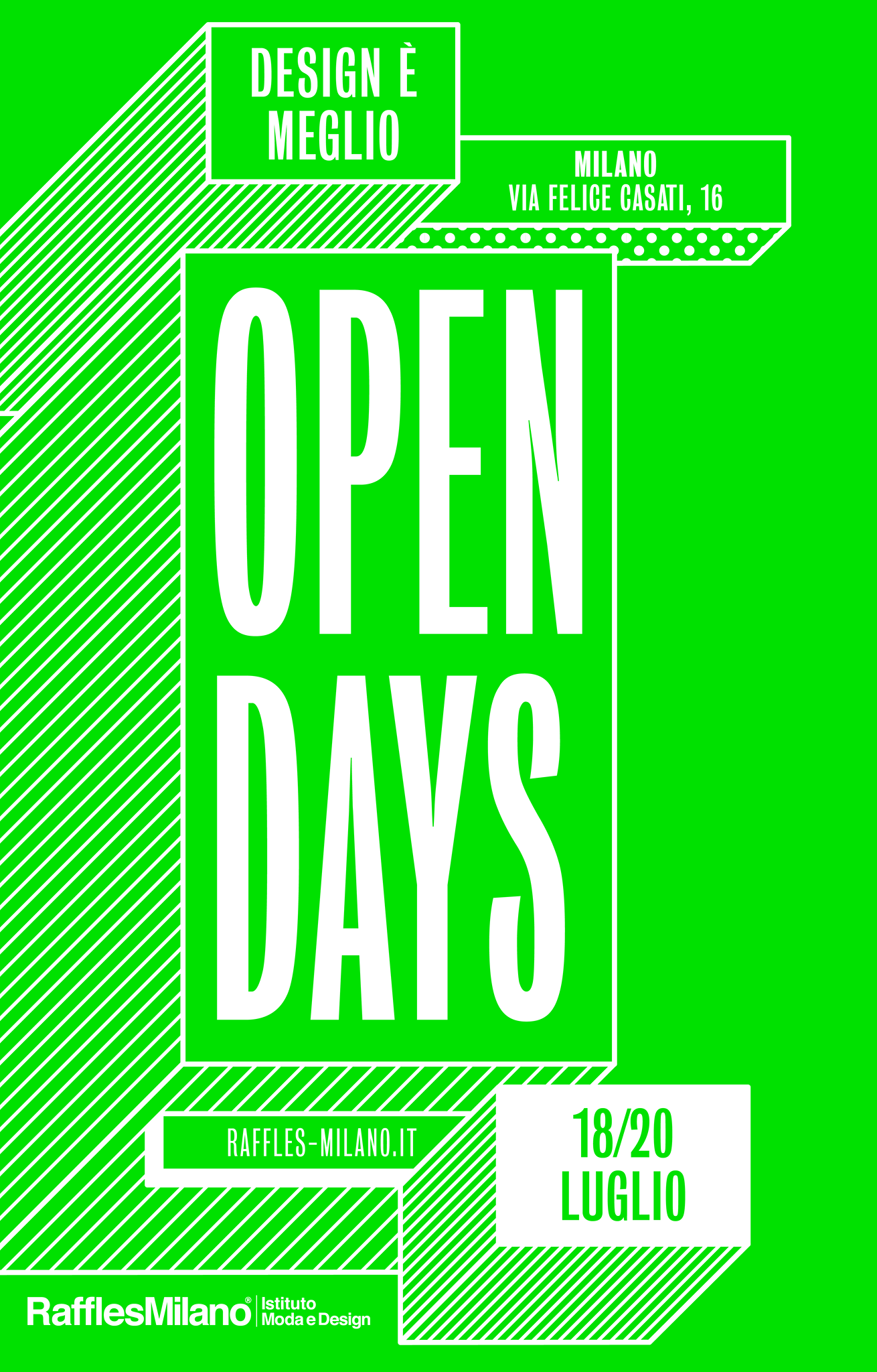 Oggi open days raffles milano sprea fotografia news for Moda e design milano