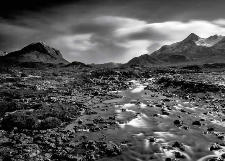 Il bianco e nero nelle foto paesaggistiche sprea fotografia for Disegni bianco e nero paesaggi