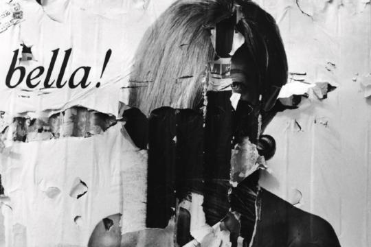 Dalla serie Manifesti strappati, Italia 1970