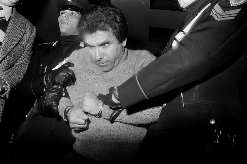 L'arresto del boss Leoluca Bagarella, Palermo 1980 Courtesy dell'artista