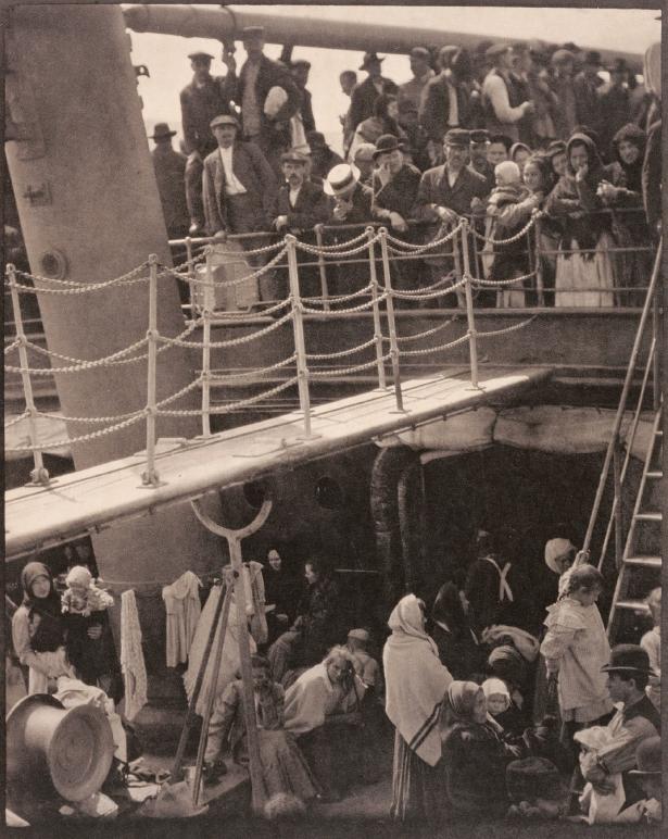 The Steerage, Il ponte di terza classe, 1907 - © Alfred Stiegliz/ Wikimedia Commons