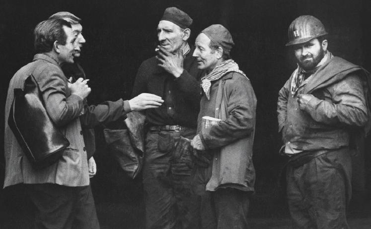 Miniera di Seraing (Liegi), 1976