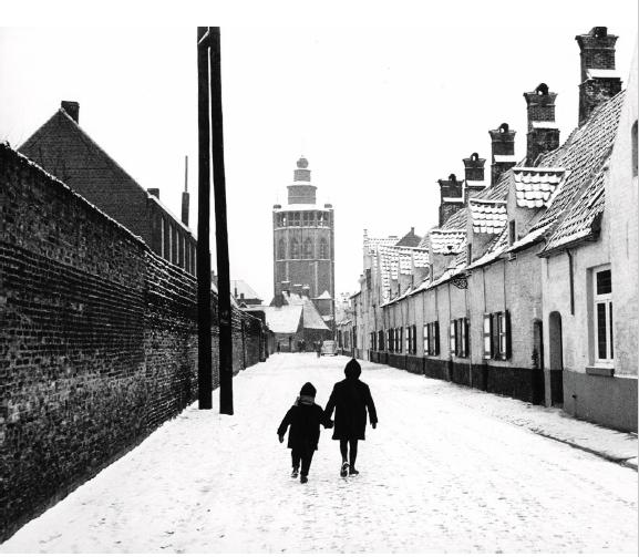 Bruges (Belgio), 1961 ©Courtesy Archivio Storico Circolo Fotografico La Gondola