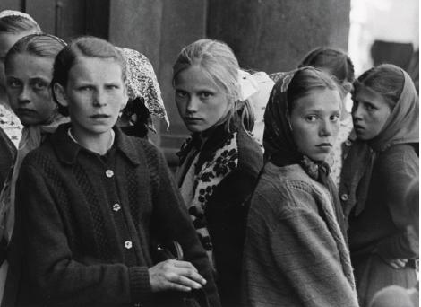 Studentesse in una scuola, Polonia, 1962 ca. Archivio Caio Mario Garrubba