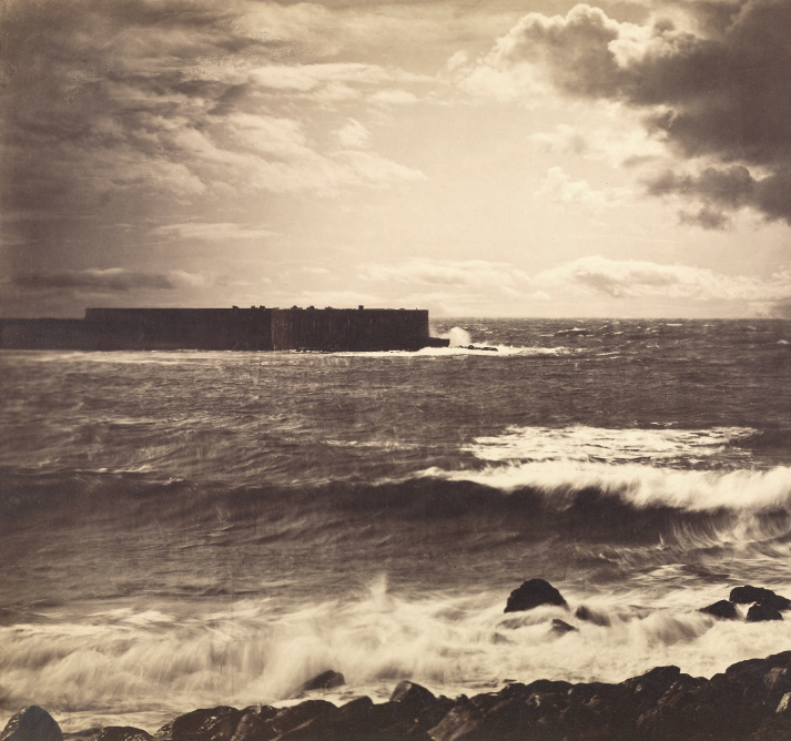 La grande onda, 1857 ca - © Gustave Le Gray/ Paul Getty Museum