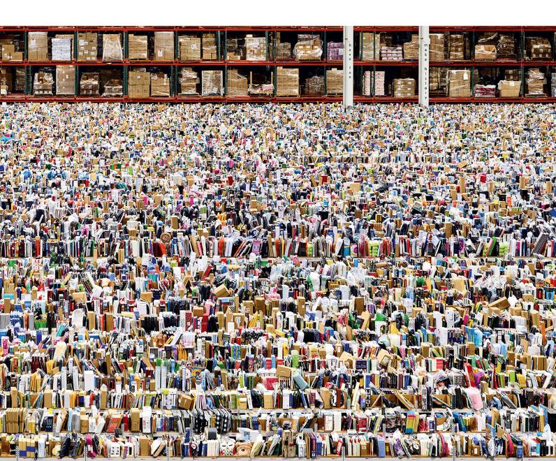 Amazon, 2016 - © Andreas Gursky / SIAE 2016, Courtesy Gagosian
