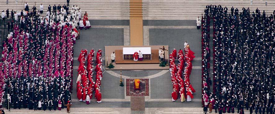 © Massimo Sestini, Roma, 2005. Funerali di Giovanni Paolo II