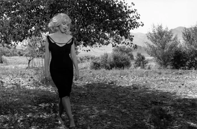Inge Morath marylin monroe sul set di misfits nevada 1960