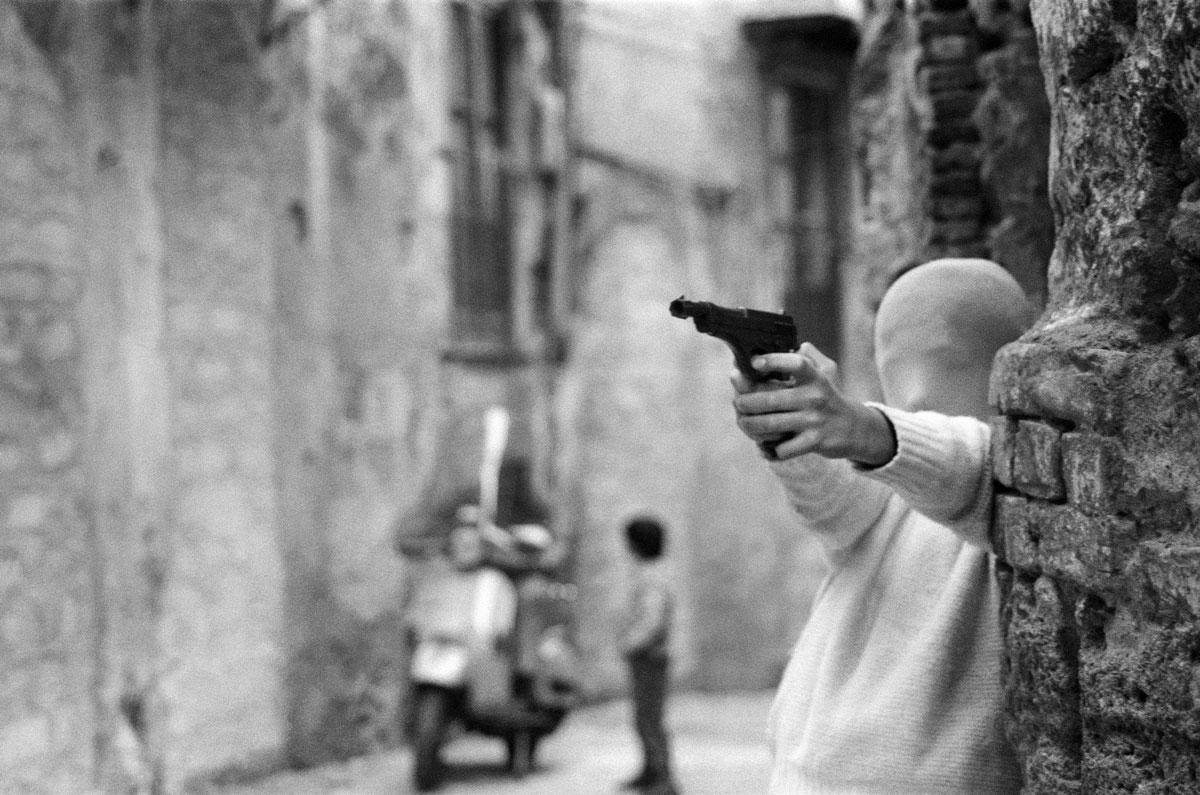 Il gioco dei killer, 1982, Palermo © Letizia Battaglia