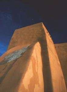 Chiesa in Adobe della missione di Ranchos de Taos