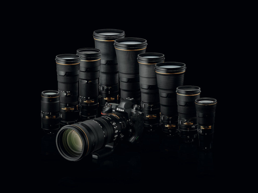 Nikon D6 - Parco obiettivi