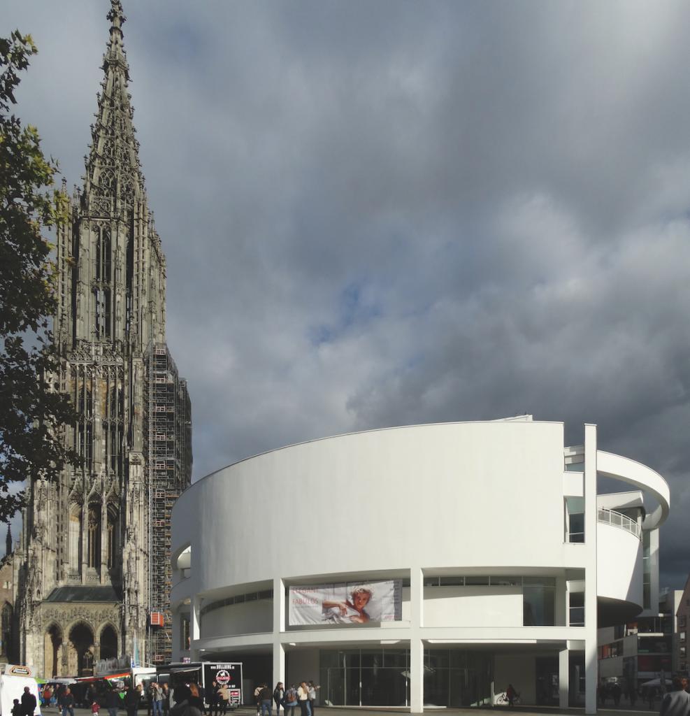 L'edificio della Stadthaus Ulm