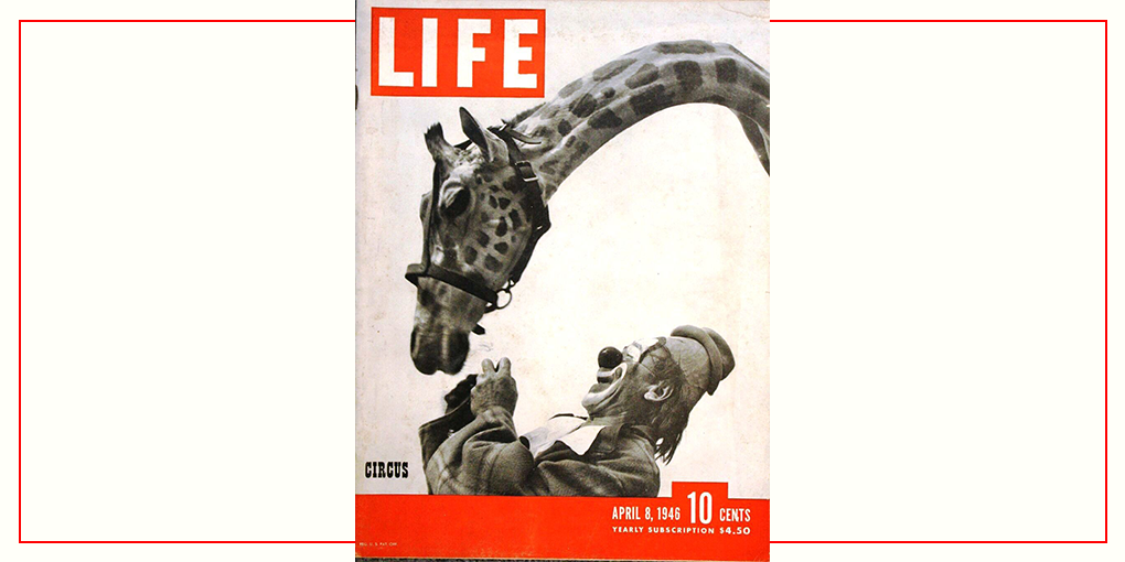 Copertina di Life Magazine di Loomis Dean