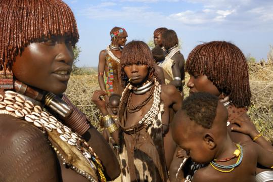 Donne Hamer, Omo Valley Etiopia © Michele Dalla Palma