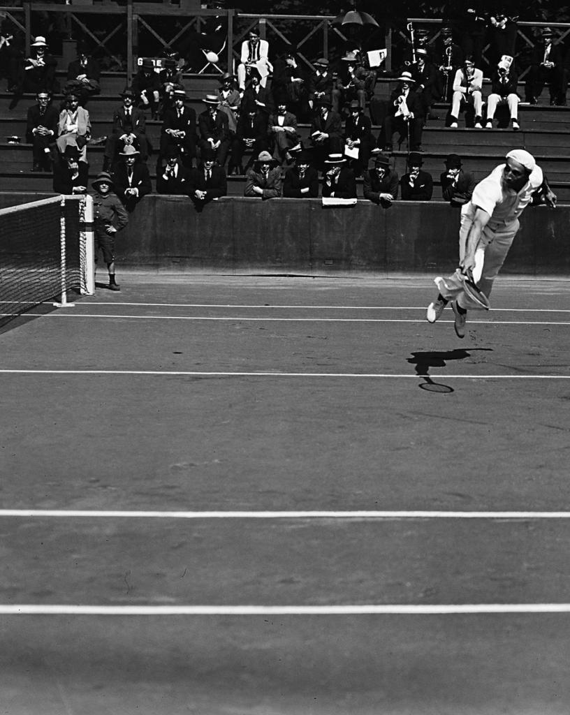 Le Comte Salm lors des Championnats du Monde de tennis, 8 juin 1914 © Ministère de la Culture (France), MAP-AAJHL