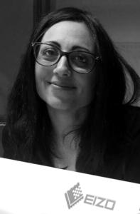 Roberta Scalisi Product & Marketing Manager di EIZO Europe