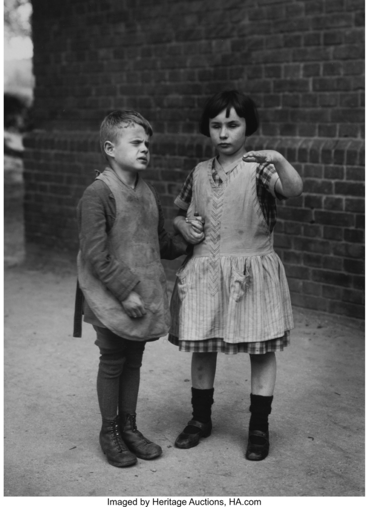 Children Born Blind August Sander, c.1930
