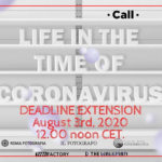 Life in the time of coronavirus - deadline extension