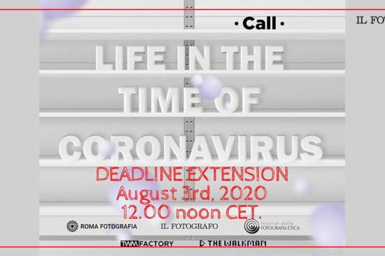 Life in the time of coronavirus - deadline extension