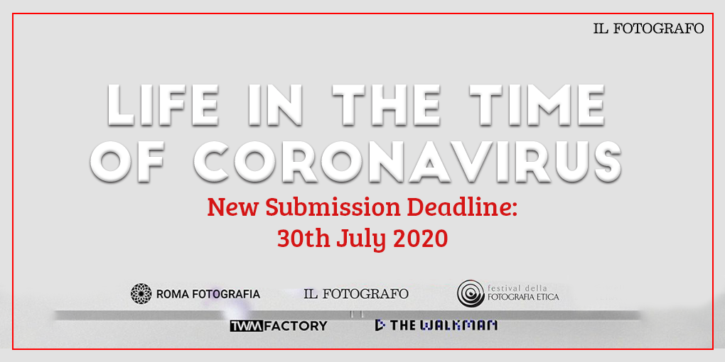 Life in the time of Coronavirus - new submission deadline