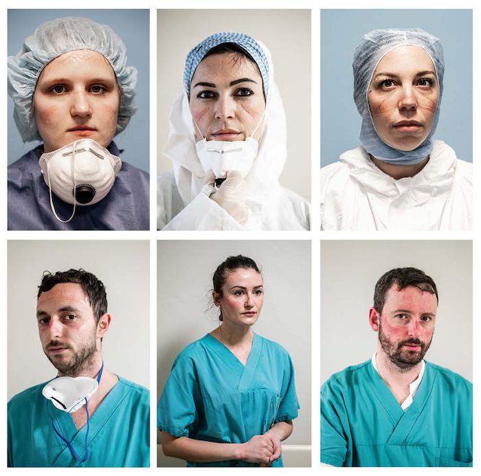 infermieri e medici terapia intensiva ospedale di Pesaro