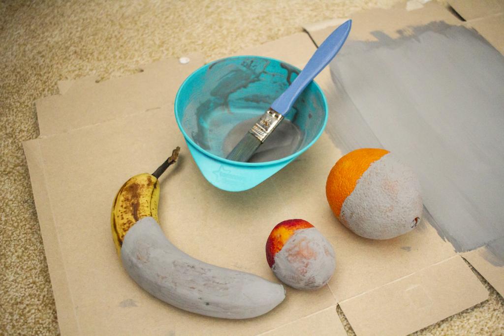 Dipingere la frutta
