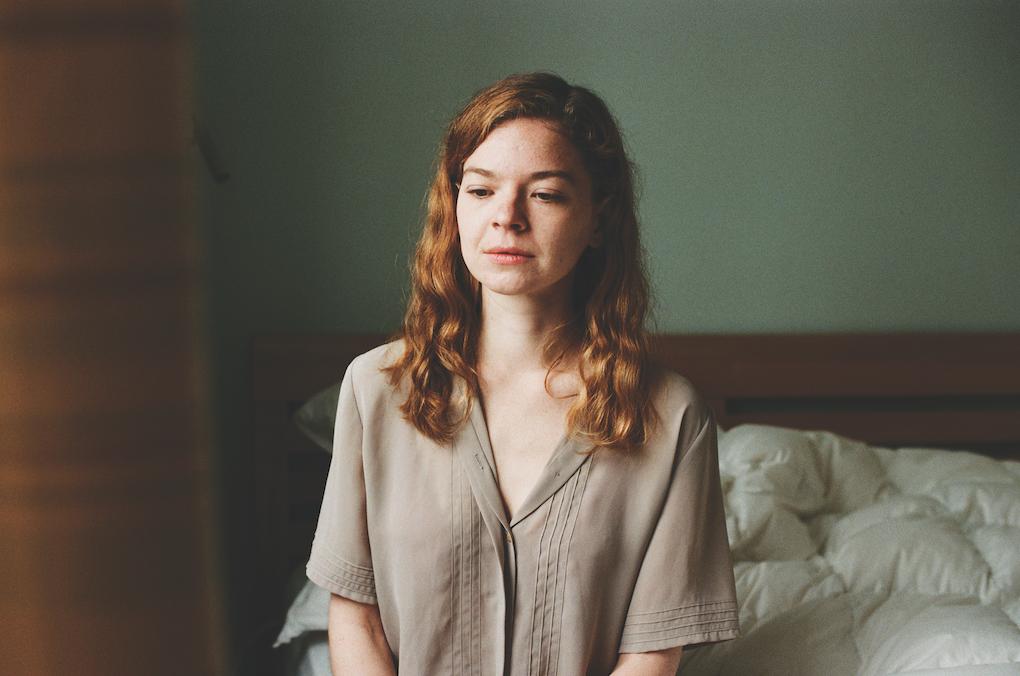 """Ava. Uno dei ritratti dell'attuale serie """"In Recovery"""""""