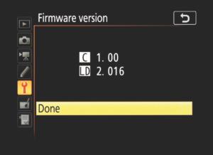 Controllo firmware