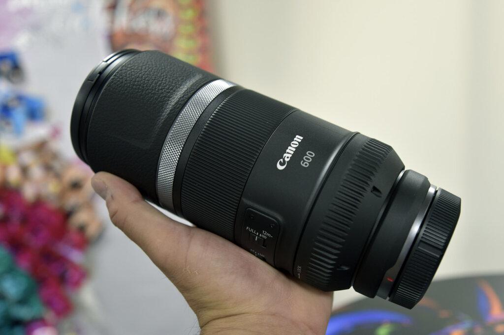 Obiettivo 600 mm