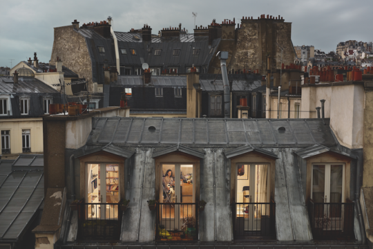 Rue de Douai, Paris, 9e, le 19 mai © Gail Albert Halaban