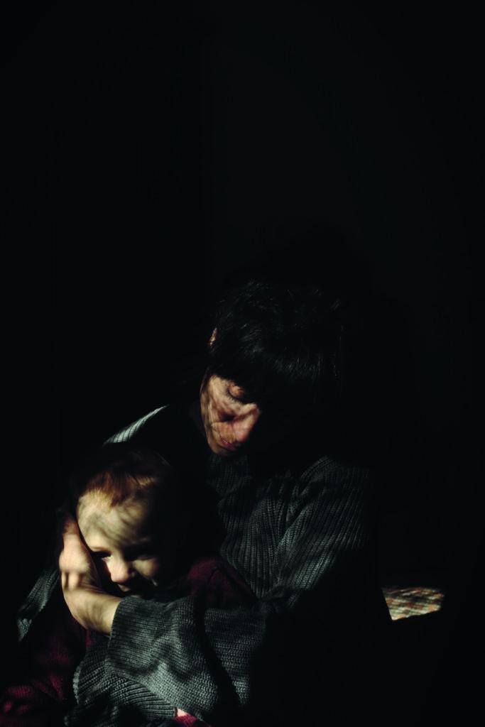 Madre e figlio (autoritratto) © Simona Ghizzoni