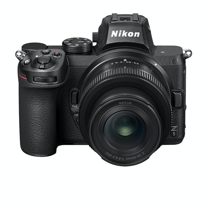 Nikon Z5 front top