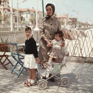 Luigi, Annalisa e Lidia, 1960 © Ferruccio Ferroni